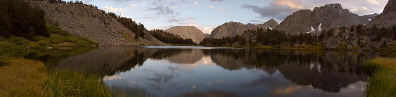 Full panorama of Sixth Lake