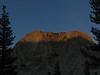 Fletcher Peak captured using partial framing