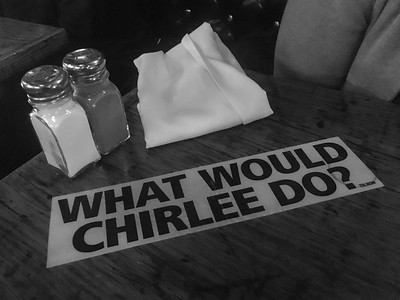 4 Mar: What would Chirlee do? At teh Tin Room, Burien, Washington