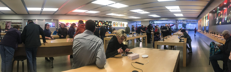 19 Feb: Inside the Apple Store