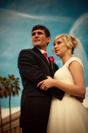 Amanda and Ian wedding day