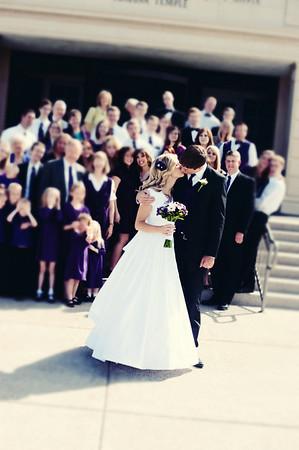 Will and Kari wedding day