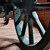 Shady wheel (Ukrainian Village, Alberta, Canada, 2011)