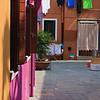 Communal square (Burano, Italy 2011)