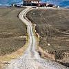 A farm (SR2 - Via Cassia between Gallina and Bagno Vignoni, Italy 2011)