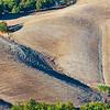 Shallow ravines (SP della Sforzesca NE of Castell'Azzara, Italy 2011)