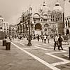 Venezia di oggi negli occhi di ieri <br /> (Basilica di San marco from Piazzetta San Marco, Venezia, Italy 2011)