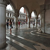Patterns <br /> (Piazzetta San Marco seen through Palazzo Ducale West-South corner arcades, Venezia, Italy 2011)