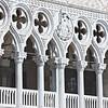 Columns <br /> (Palazzo Ducale upper floor open arcade, West side, Venezia, Italy, 2011)