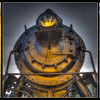 Railroad gold trio (Alberta Railway Museum, Edmonton, Canada 2012)