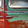Under the frosty glass (Aldon Auto Salvage, Lamont, Alberta, Canada 2012)