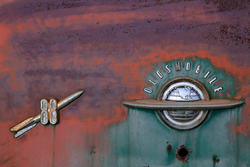 Flight into the Sunrise (Aldon Auto Salvage, Lamont, Alberta, Canada 2012)