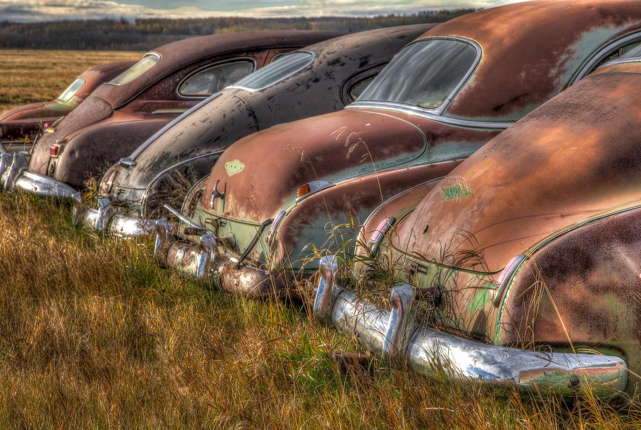 RIP (Aldon Auto Salvage, Lamont, Alberta, Canada 2012)