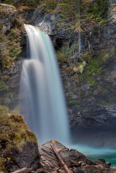 Sutherland Falls (Blanket Creek Provincial Park, BC, Canada 2012)