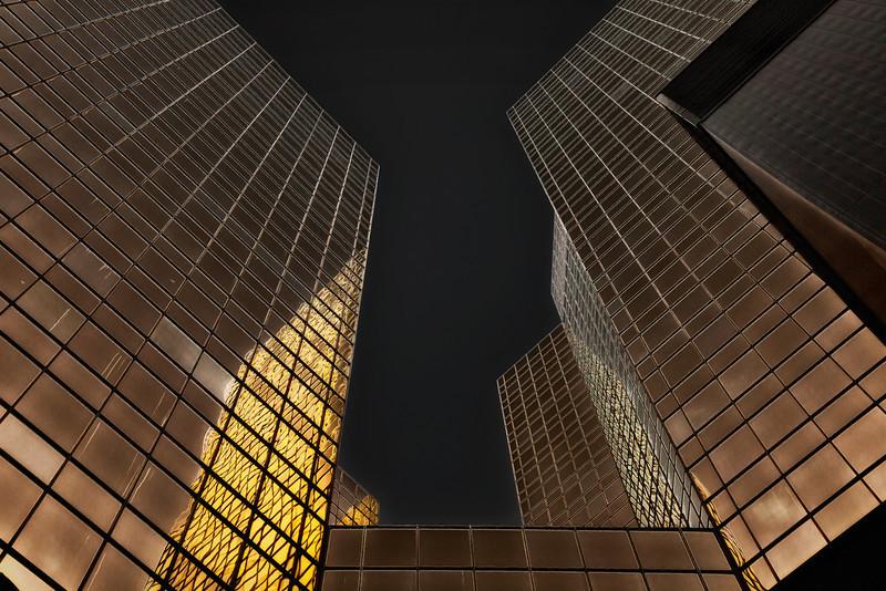 Discrete glow of gold (Edmonton, Alberta, Canada 2012)