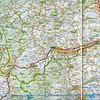 Piano Grande access. My own route: Alba Adriatica - San Benedetto del Tronto - Ascoli Piceno - Acquasanta Terme - Arquata del Tronto -  Piedilama - Pretare - Forca di Presta - Castelluccio - Forca di Gualdo - Castelluccio - Forca Canapine - Arquata del Tronto, and back to Alba Adriatica (from Auto Atlante Italia 1:250 000, Istituto Geografico de Agostini 2001)