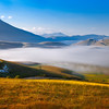 Pian Perduto under the morning blanket (Piano Grande di Castelluccio, Umbria, Italy 2012)