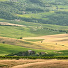 Down the valley (Fosso Triboli, Val d'Orcia, Italy)
