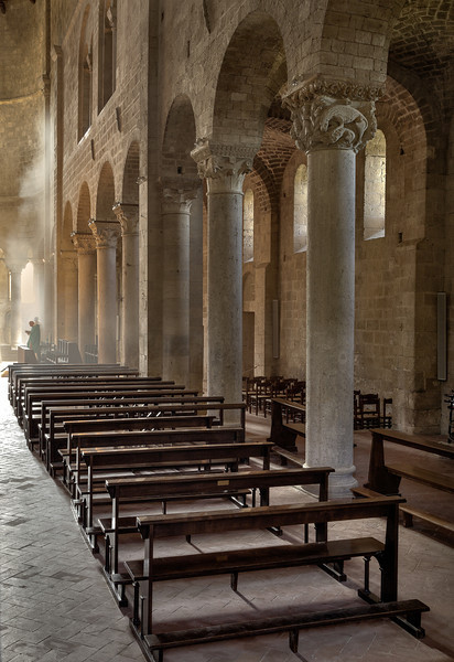 Prayer in Abbazia (Abbazia Sant'Antimo, Italy 2012)