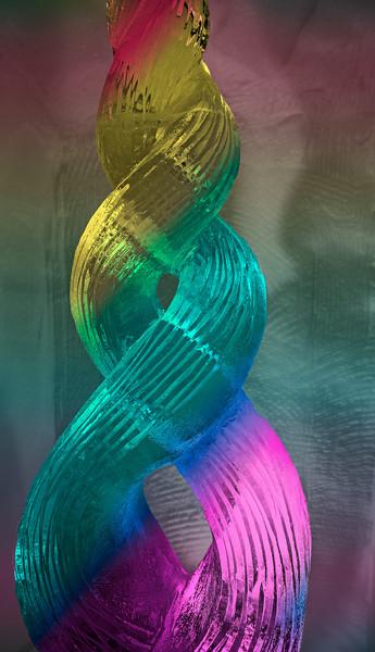 Icy double helix