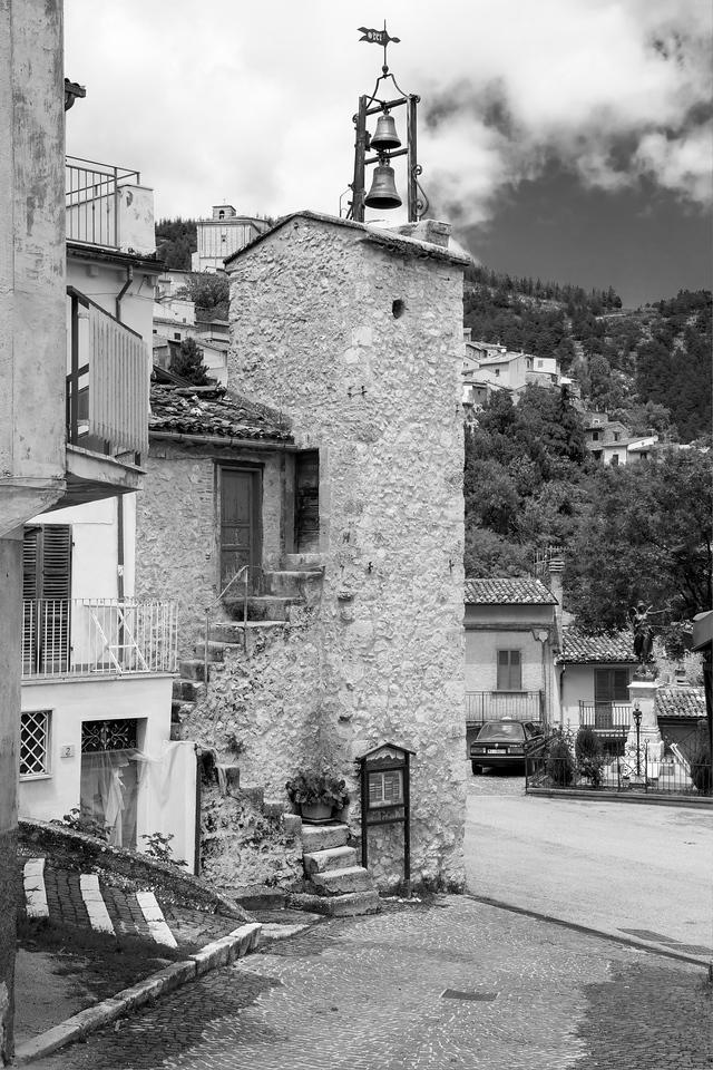 Village bell tower