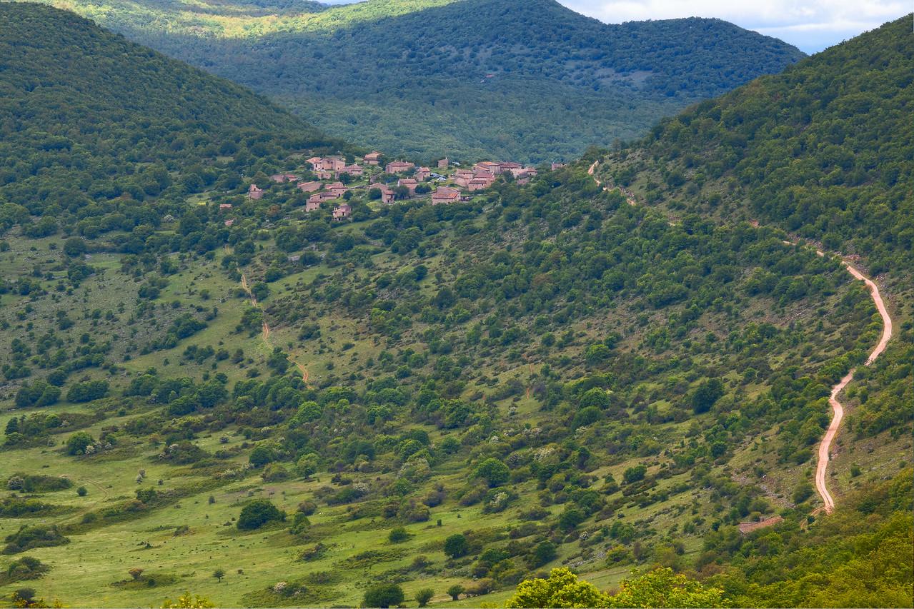 Pastoral summer village