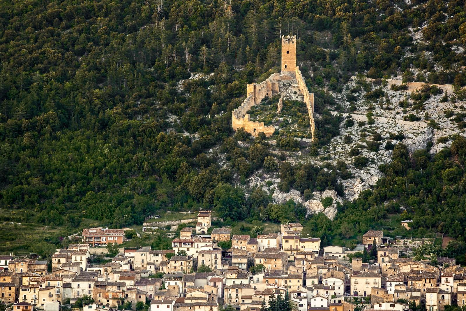 San Pio delle Camere, Abruzzo, Italy 2013