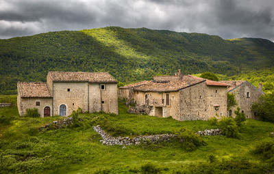 Pastoral hamlet in Abruzzo