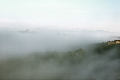 Tuscan mists (colour) 2013