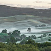 Shy mist (SS146 between Pienza & San Quirico d'Orcia, Italy 2013)