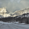 Highway to the peaks (Canadian Rockies, Alberta, Canada 2013)
