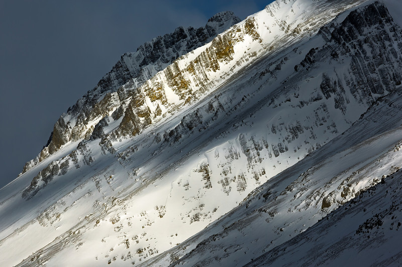 Snowy ridge (Jasper national Park, Alberta,Canada 2013)
