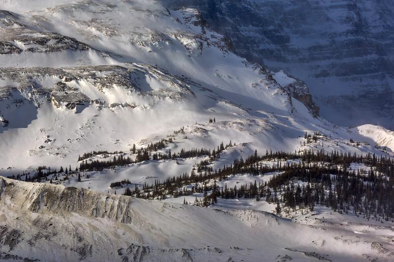 Side of a glacier (Athabasca Glacier, Jasper National Park, Alberta, Canada 2013)