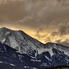 Daylight harbinger (Canadian Rockies, Alberta, Canada 2013)