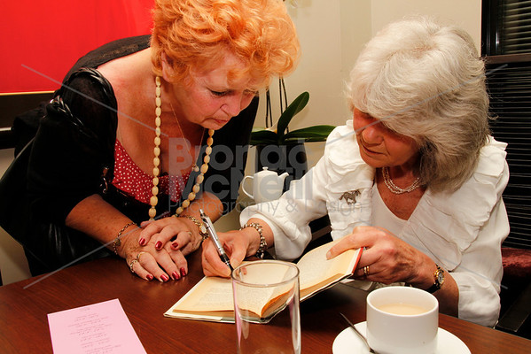 Jilly Cooper, You Mag Book Day, Radisson Edwardian Bloomsbury Street Hotel, London, 14th May 2011. ©BronacMcNeill