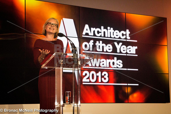 Mariella Frostrup, Architect of the Year 2013