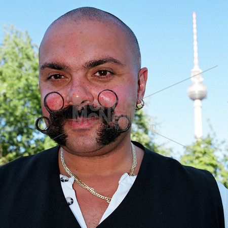 Mustash Boat Man, Berlin