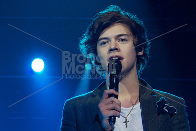 One Direction, Global, Capital Radio's Jingle Bell Ball, The O2, London. 9Dec2012 ©BronacMcNeill