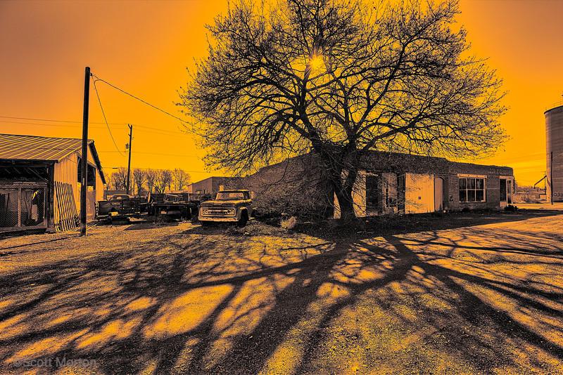 Sun Baked Farm Truck