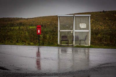 Bus Shelter, Isle of Skye