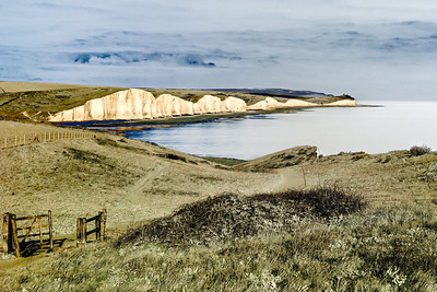The Seven Sisters from Seaford Head, East Sussex