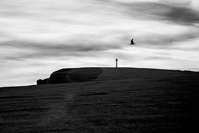 Tennyson Down and Tennyson Monument, Isle of Wight