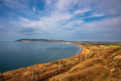 Sandown Bay from Culver Down
