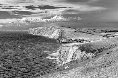 Freshwater Bay and Tennyson Down, Isle of Wight