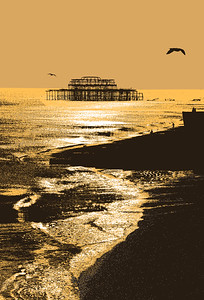 West Pier Gold (Limited Edition of 25)