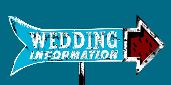 Wedding Information (Limited Edition of 10)