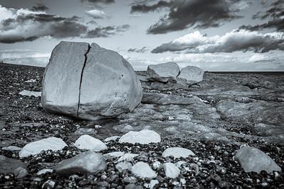 Split Rock and Heavy Cloud