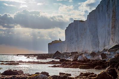 The Belle Tout lighthouse and Seven Sisters