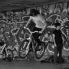 Practising with the AF-C mode - the Skater Park on the South Bank