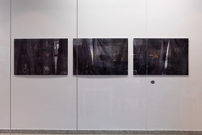 Three photographs Dimensions: w: 105 cm, h: 70cm Inkjet-print on forex